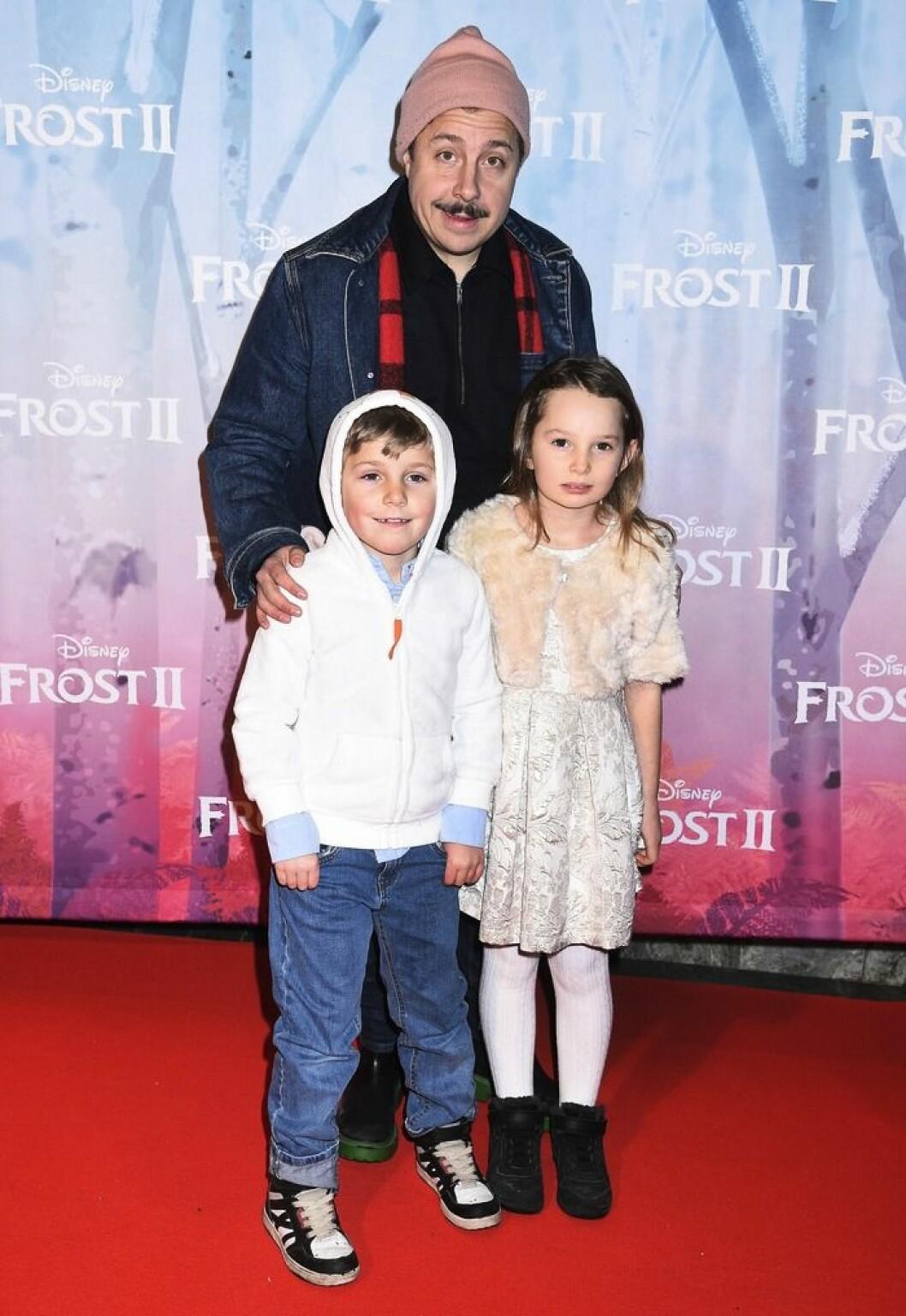 David Sundin, Betty och Lou på premiär för Frost II på Rigoletto.