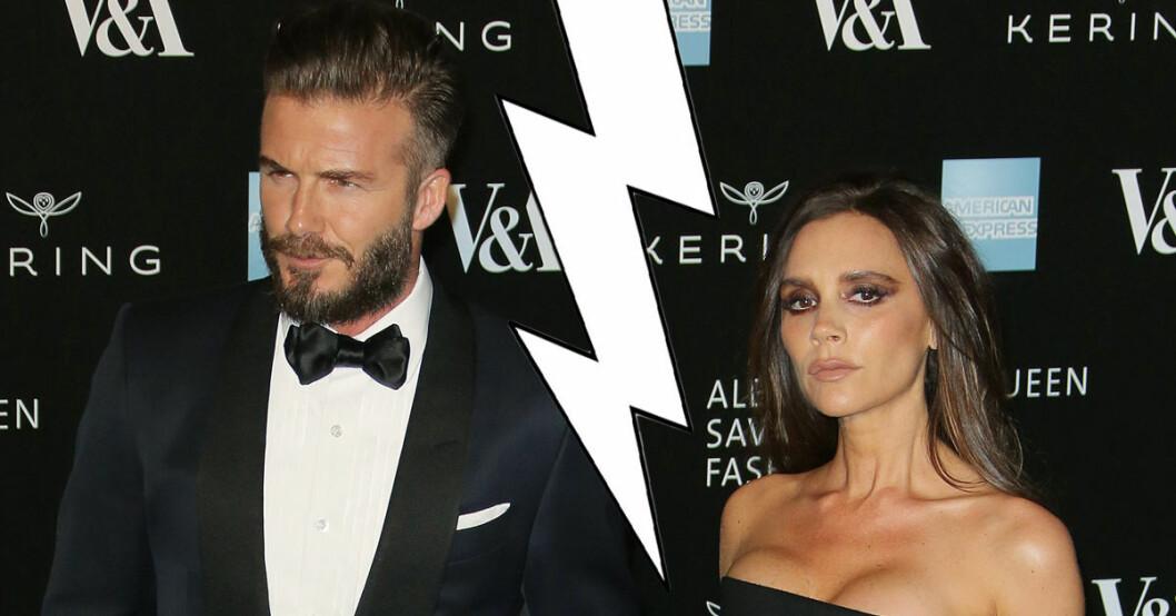 Det har ryktats om att David och Victoria Beckham ska skiljas. Nu sparkar David sin pr-kvinna som startat ryktet.
