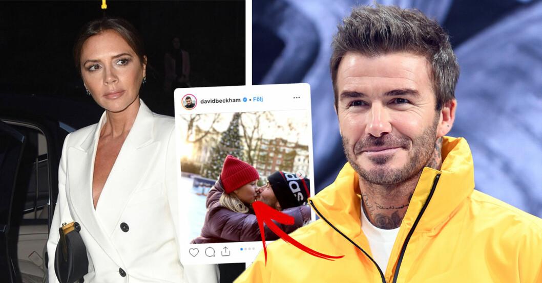 David Beckhams bild med 8-åriga dottern upprör fansen
