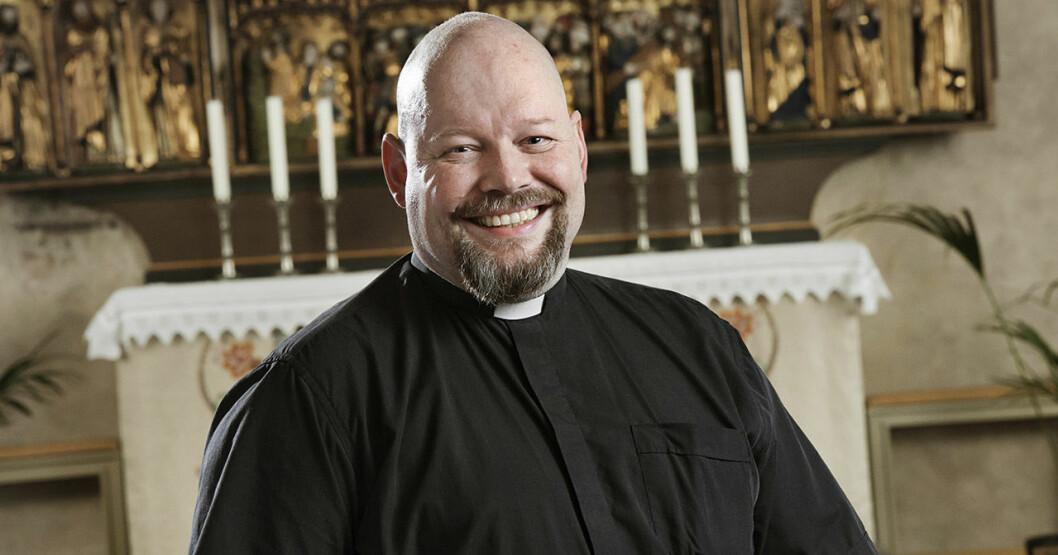 David Castor, präst i SVT:s Tro, hopp och kärlek.