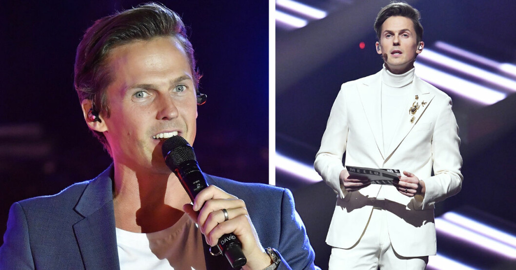 David Lindgren avslöjar varför han sparkades från Melodifestivalen på SVT.