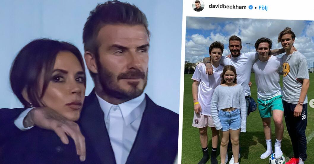 David och Victoria Beckham i storbråk med grannarna – rasar efter beslutet för familjen
