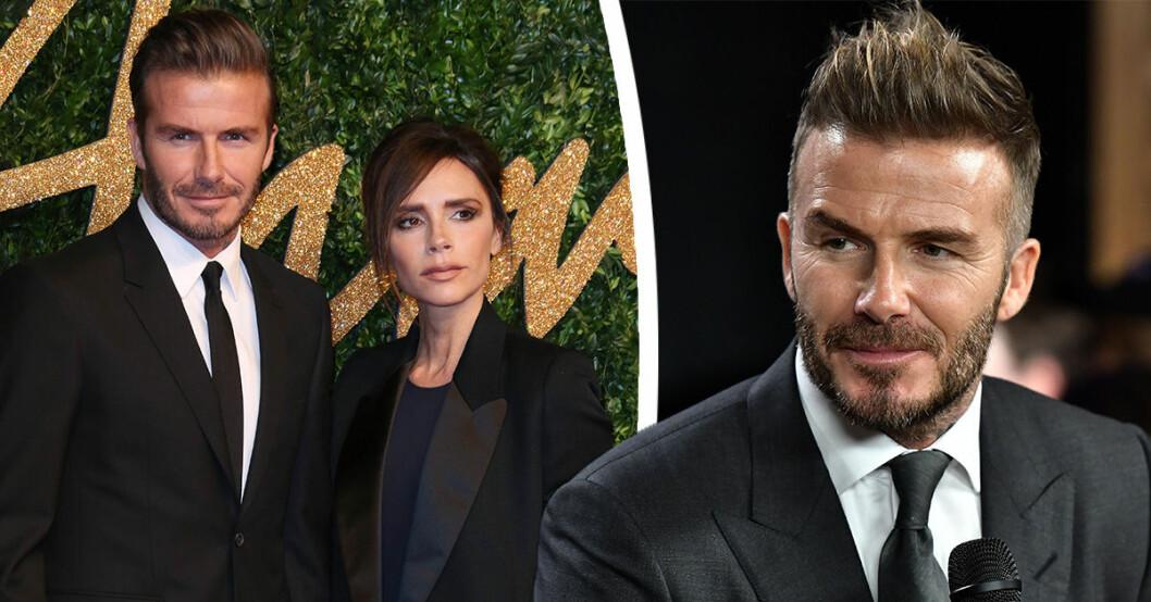 David Beckhams oväntade ord om Victoria efter skilsmässoryktena