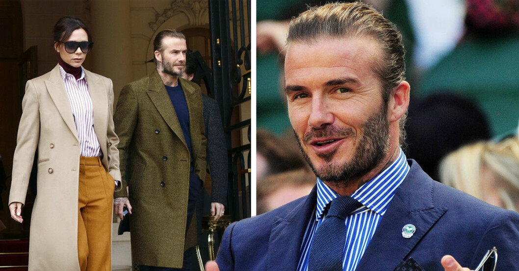David Beckham köper krog