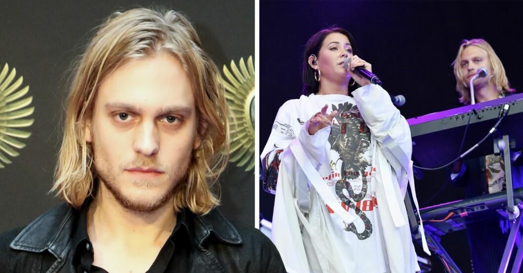 Musikern David Larson och Molly Sandén