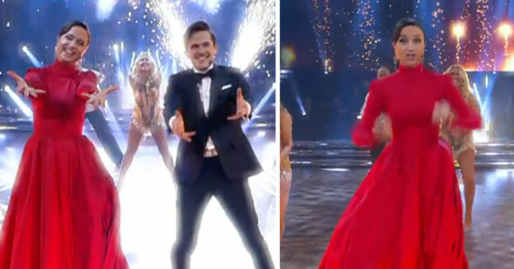 Petra och David i Let's dance