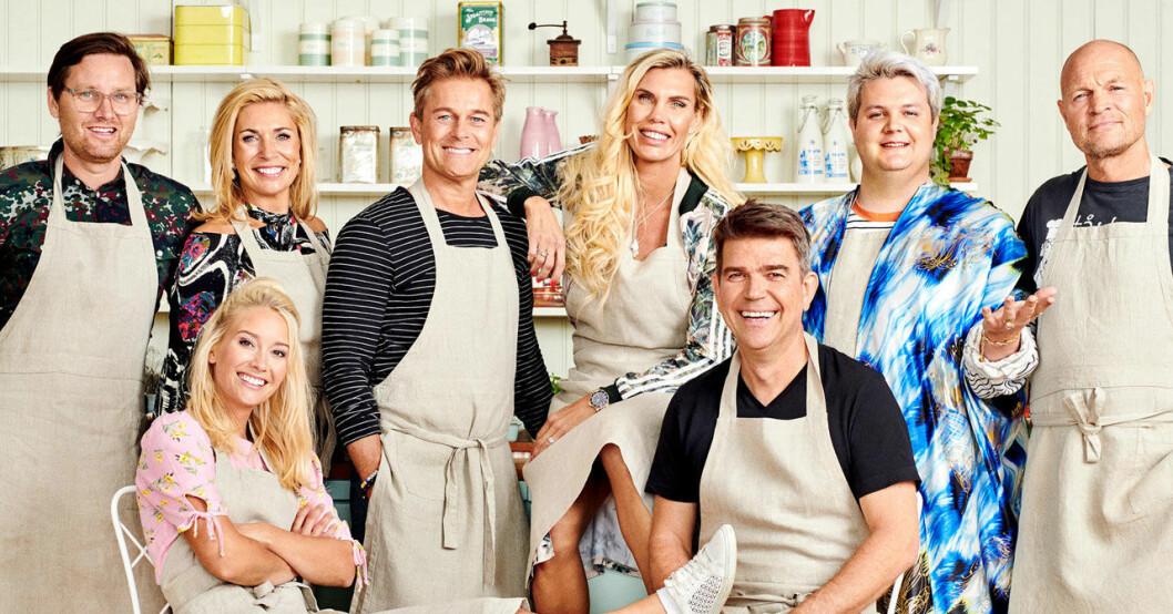 Alla deltagare i Hela kändis-Sverige bakar 2019 i TV4.