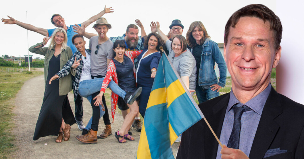 Här är alla deltagare i SVT-programmet Allt för Sverige 2018 med Anders Lundin som programledare.