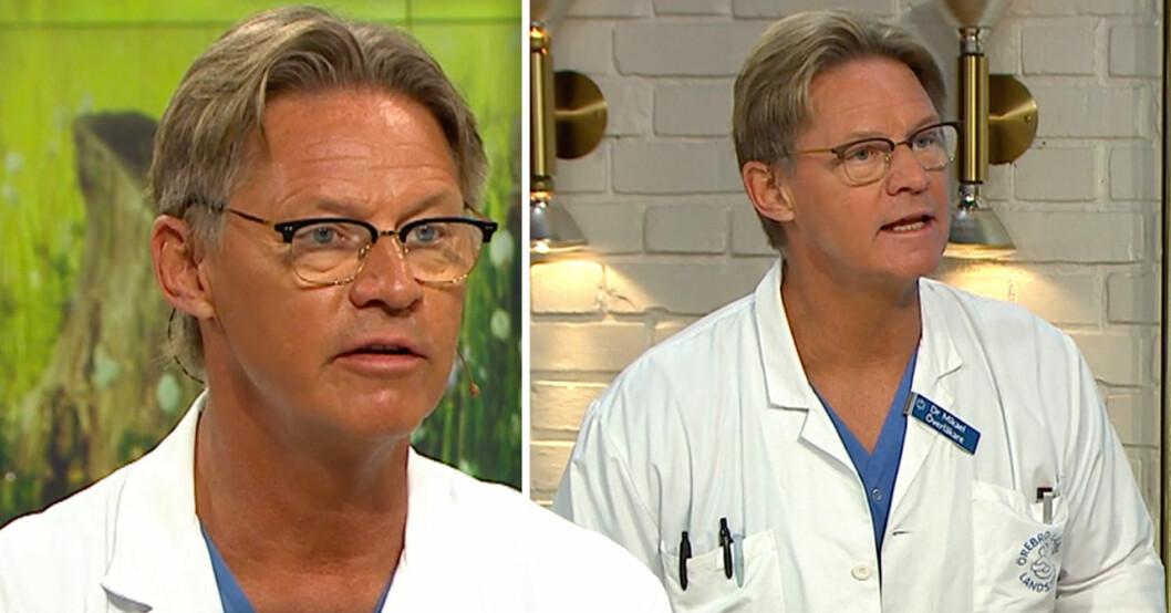 Doktor Mikael i Nyhetsmorgon