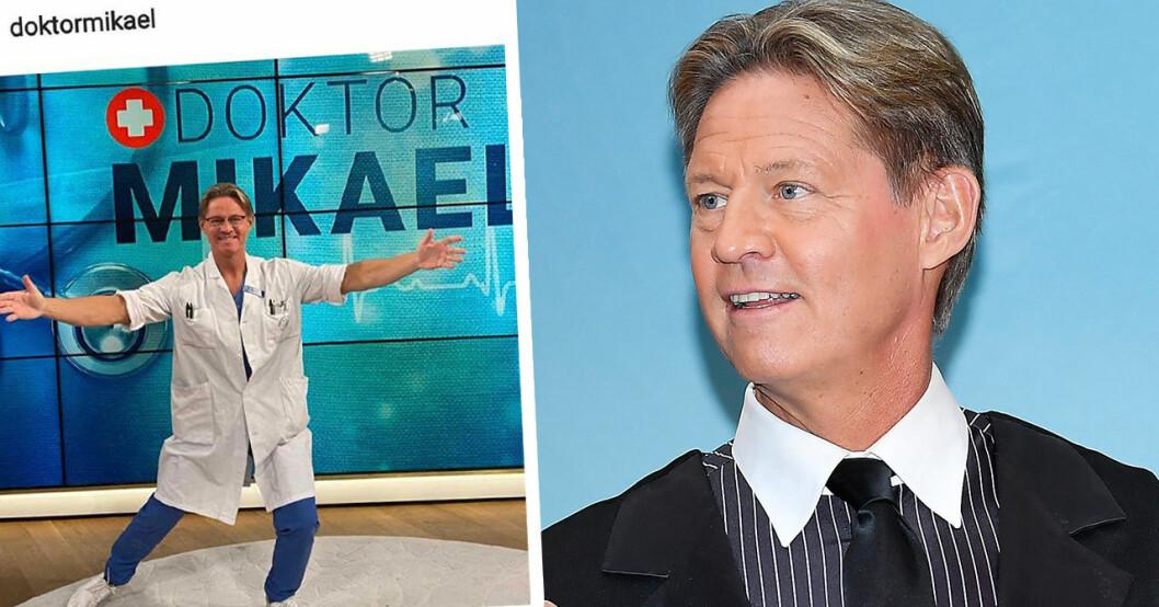 Mikael Sandström stoppas – efter avhoppet från Let's dance