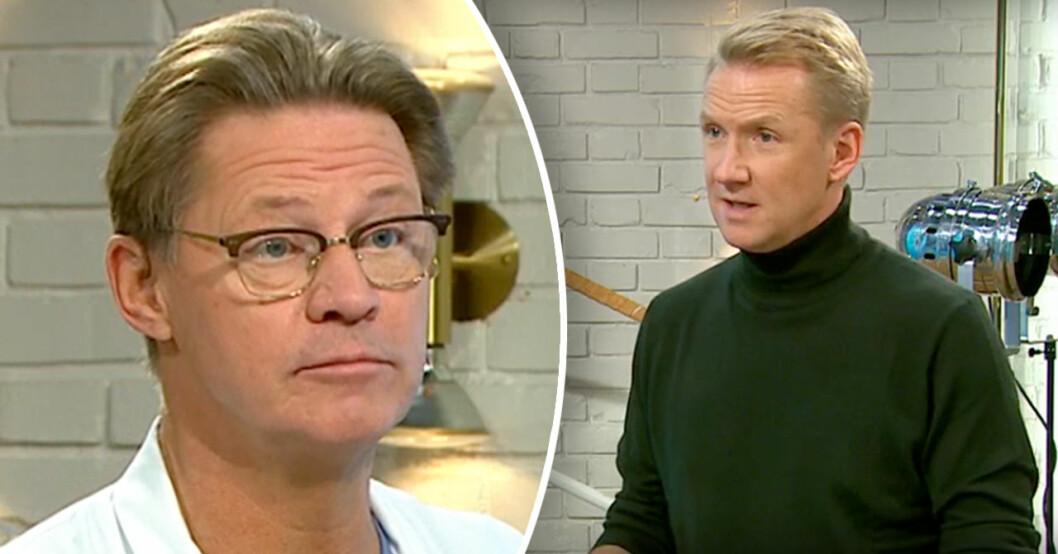 Doktor Mikael Sandström i Nyhetsmorgon