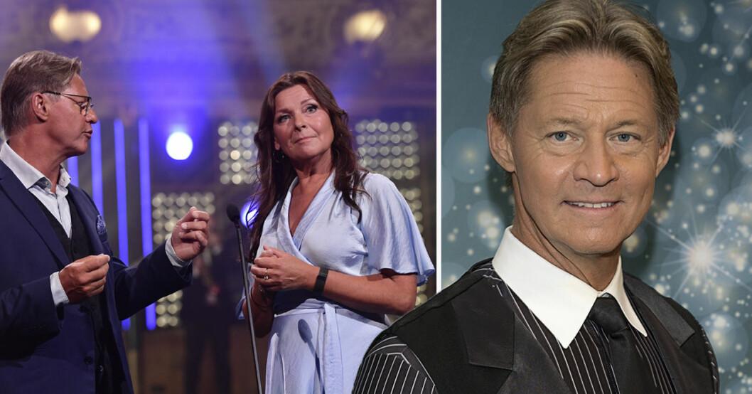 Doktor Mikael Sandström och Lotta Engberg