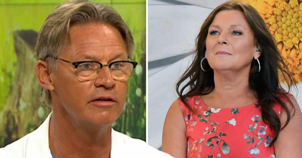 Mikael Sandström och Lotta Engberg.