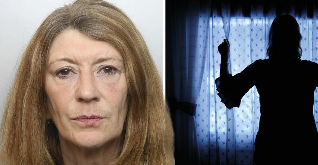 59-åriga kvinnan hällde kokande sockervatten över sin make.
