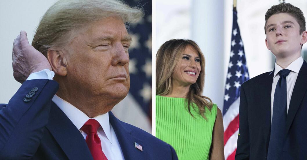 Donald Trump och Melania