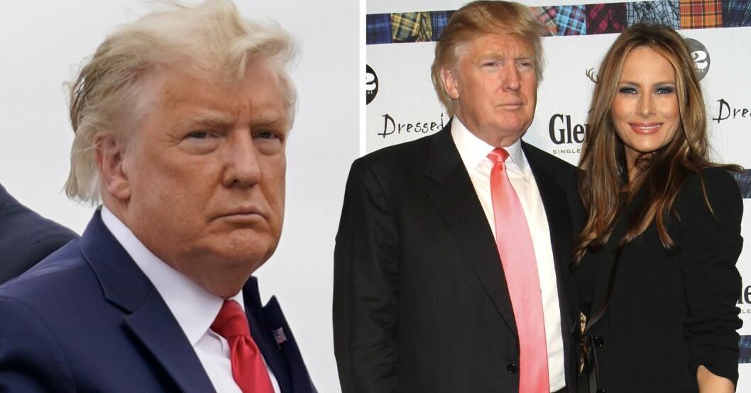 Donald Trump och Melania Trump