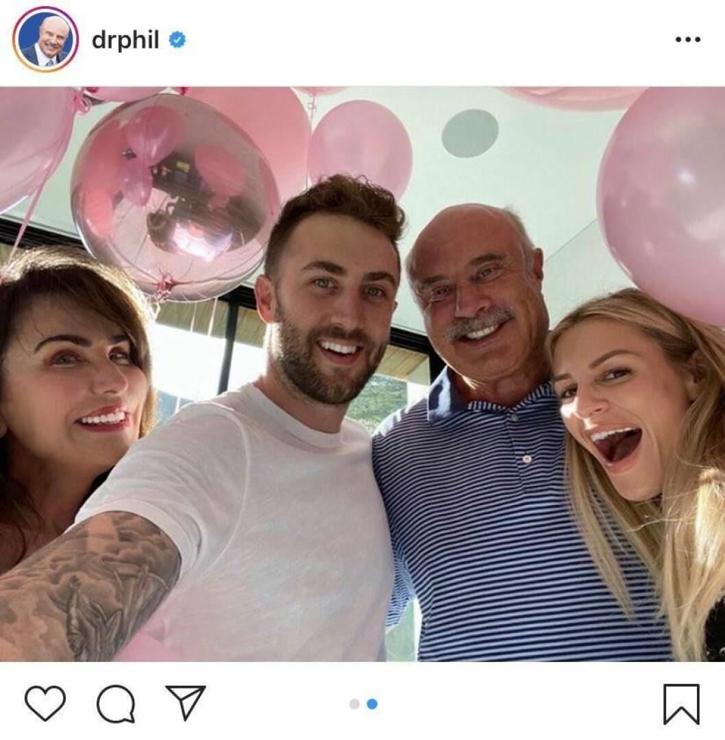Dr. Phil ska bli farfar