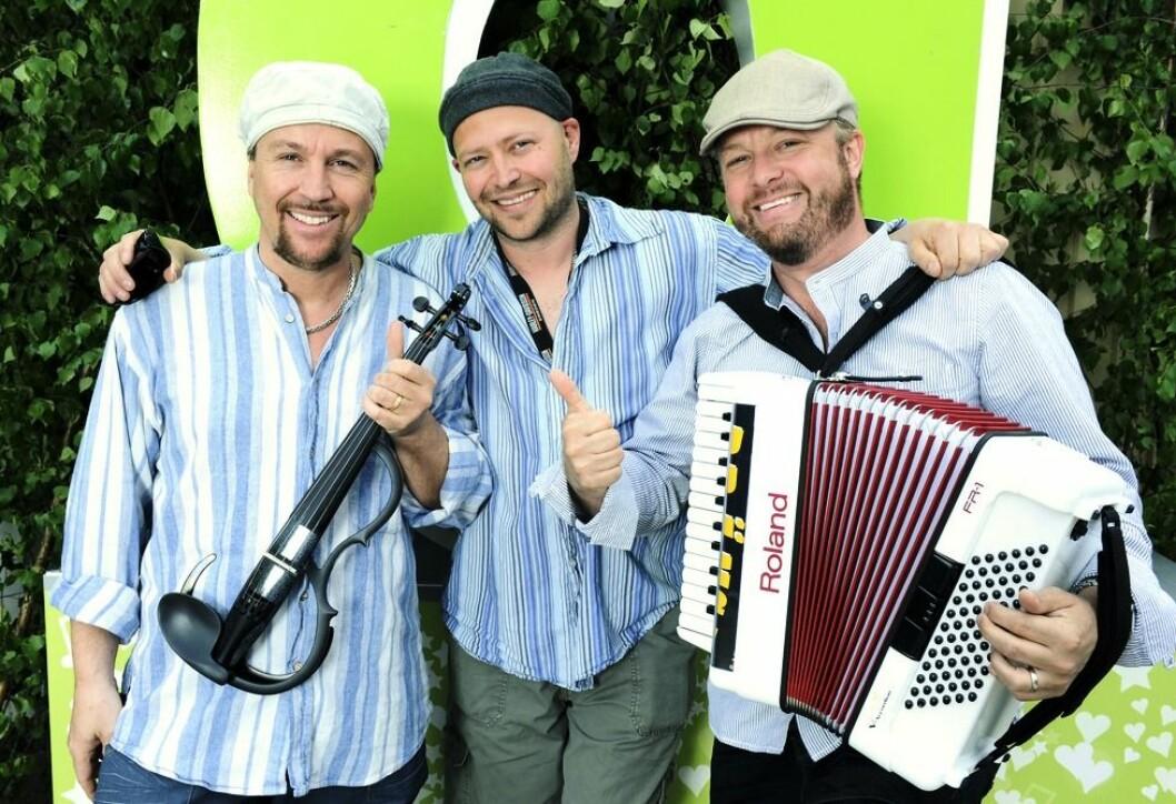 Drängarna gästade Allsång på Skansen 2010