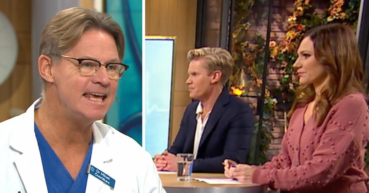 Doktor Mikael Sandström har fått nog av en viss mening.