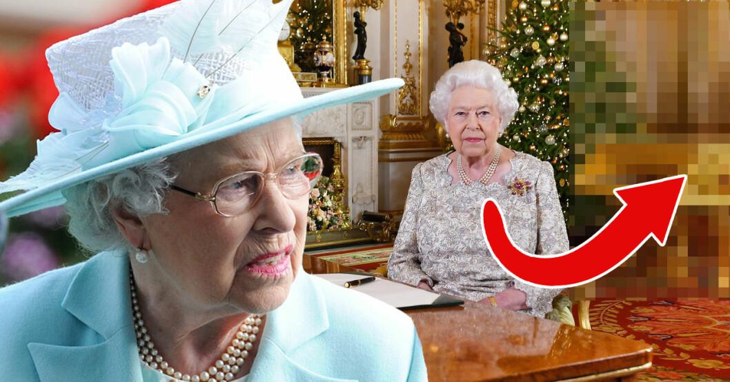 Nu rasar tv-tittarna på att drottning Elizabeth har en guldpiano men pratar om fattigdom i sitt jultal.