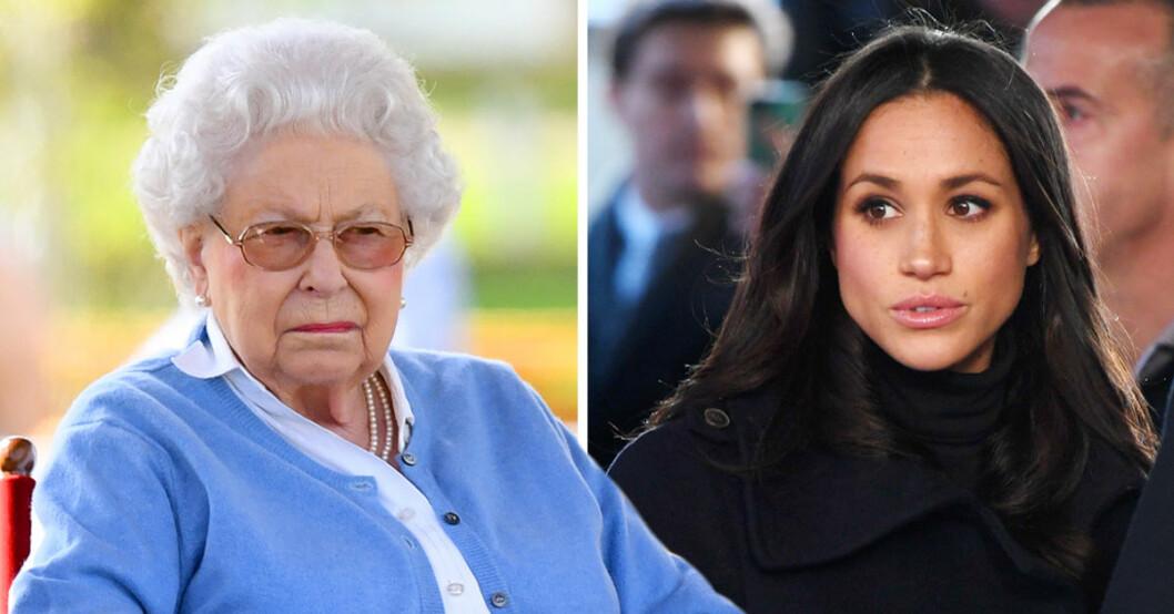 Drottning Elizabeth avslöjade Meghan Markles namnbyte. Hon heter egentligen Rachel.