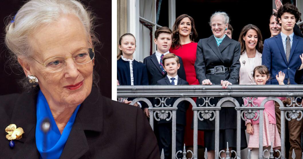 Drottning MArgrethes ursäkt till barnbarnen
