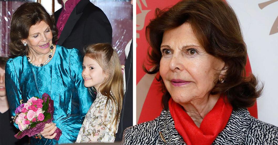 Drottning Silvias stora oro – beskedet om barnen