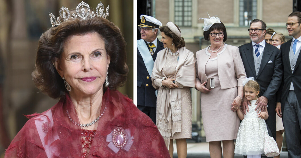 Drottning Silvias relation med prins Daniels mamma Ewa Westling.