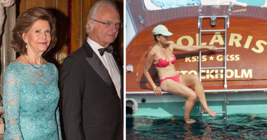 Den kungliga krönikören Karin Lennmor avslöjar nu drottning Silivas hemliga krav under resorna för att hålla sig i form.