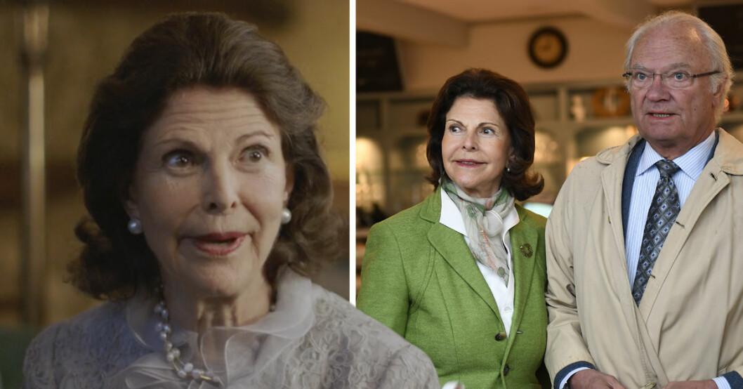 Drottning Silvia och Kung Carl Gustaf