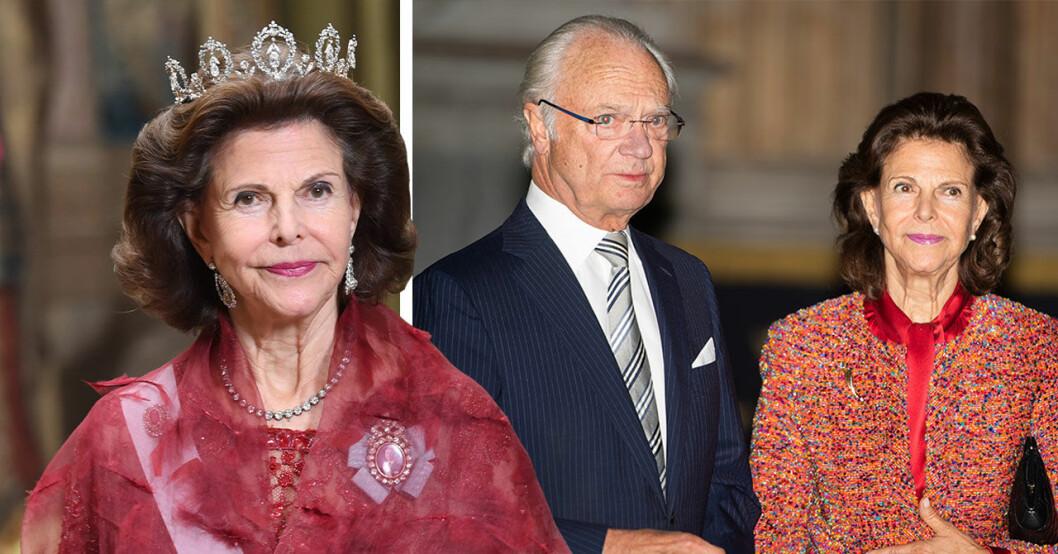 Drottning Silvias ord om kungens beslut