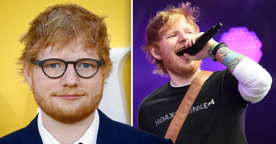 Ed Sheeran tar paus
