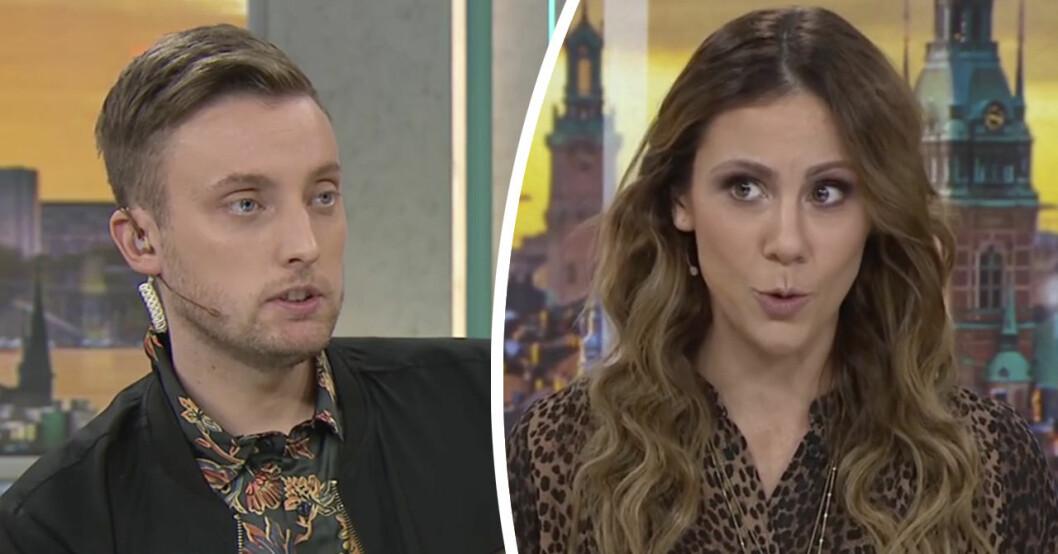 Tittarna rasar efter programledarens ord i Efter fem på TV4.