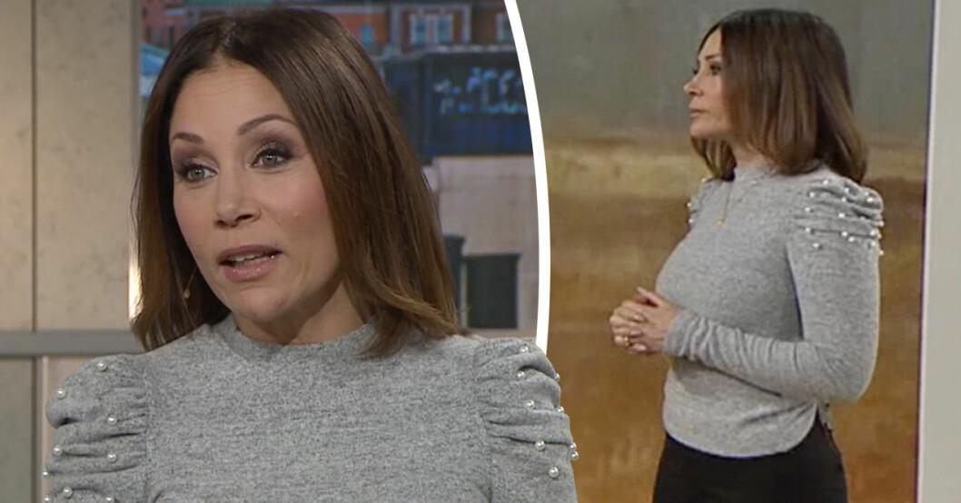 Tilde de Paula Eby i TV4:s Efter fem.
