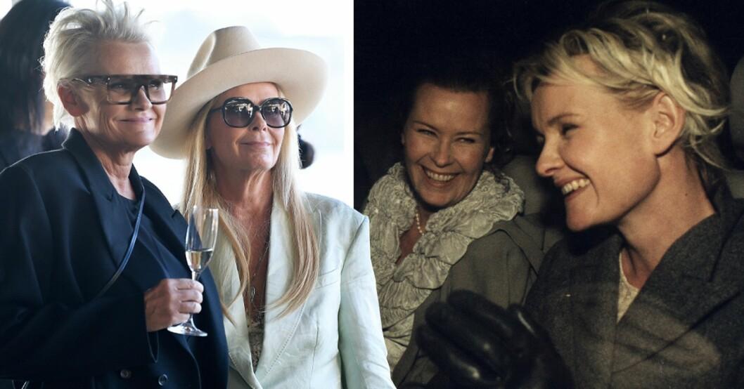 Eva Dahlgren och Efva Attling är ett par