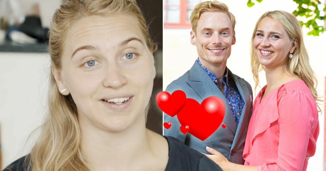 Elinor Sundfeldt och Lars Ekström i Gift vid första ögonkastet.
