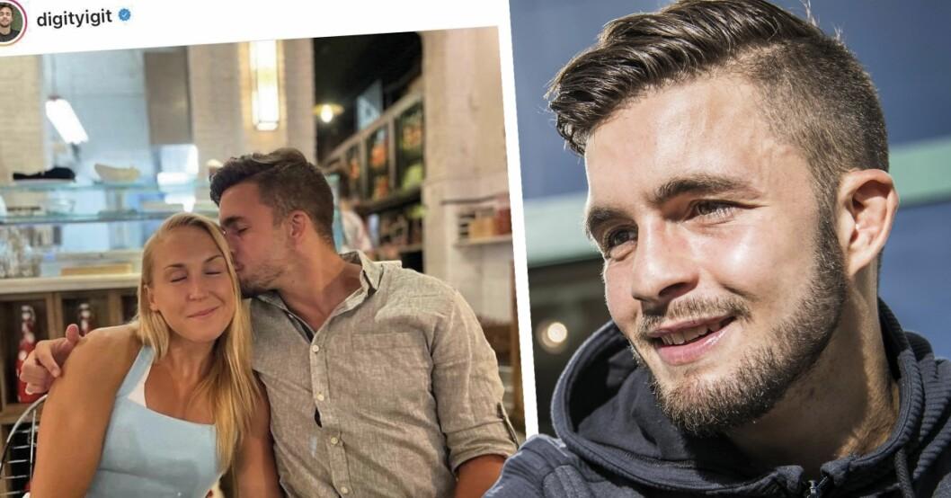 Elin Härkönen och pojkvännen Anthony Yigit