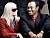 Elin Nordegren och Tiger Woods som lyckligt gifta