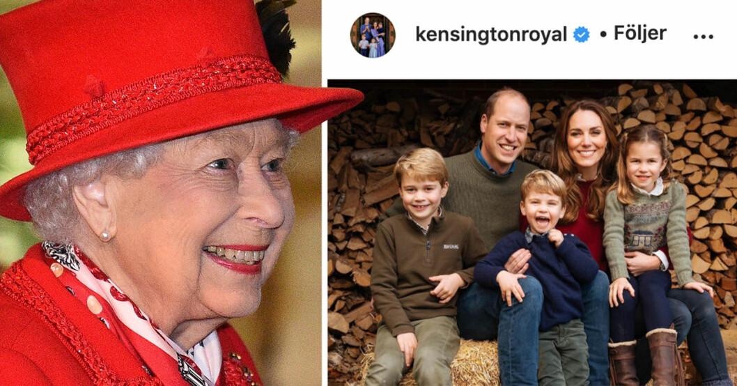 Familjens följare tycker att prinsessan Charlotte är väldigt lik drottning Elizabeth II
