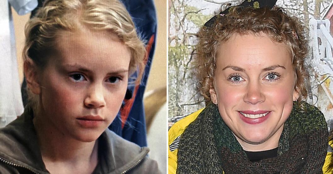 Ellen Fjæstad 2004 och 2016.