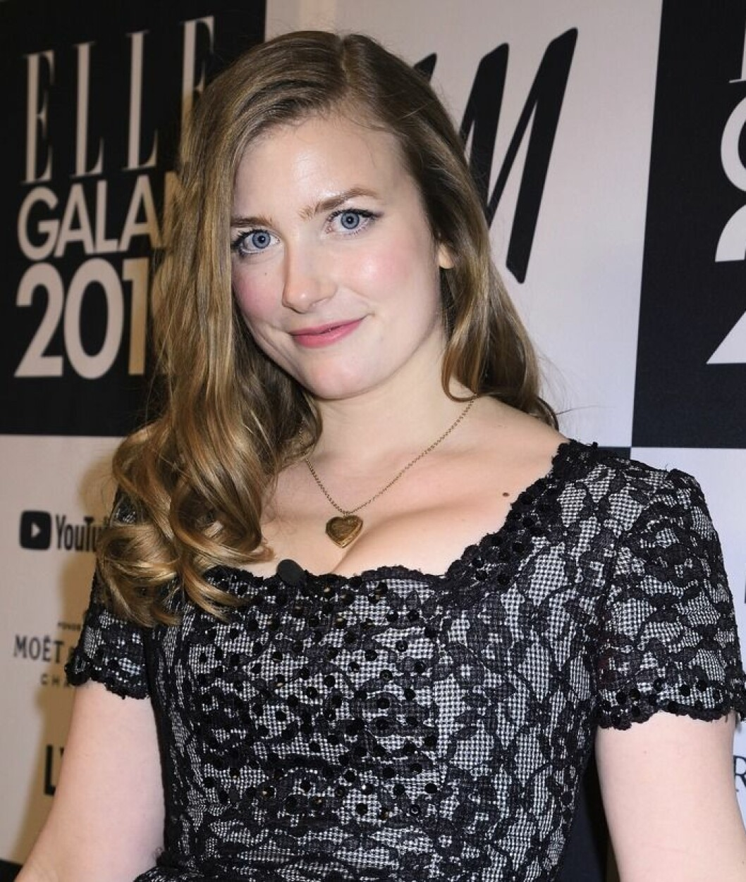 Elsa Billgren på röda mattan, Elle-gatan 2019.