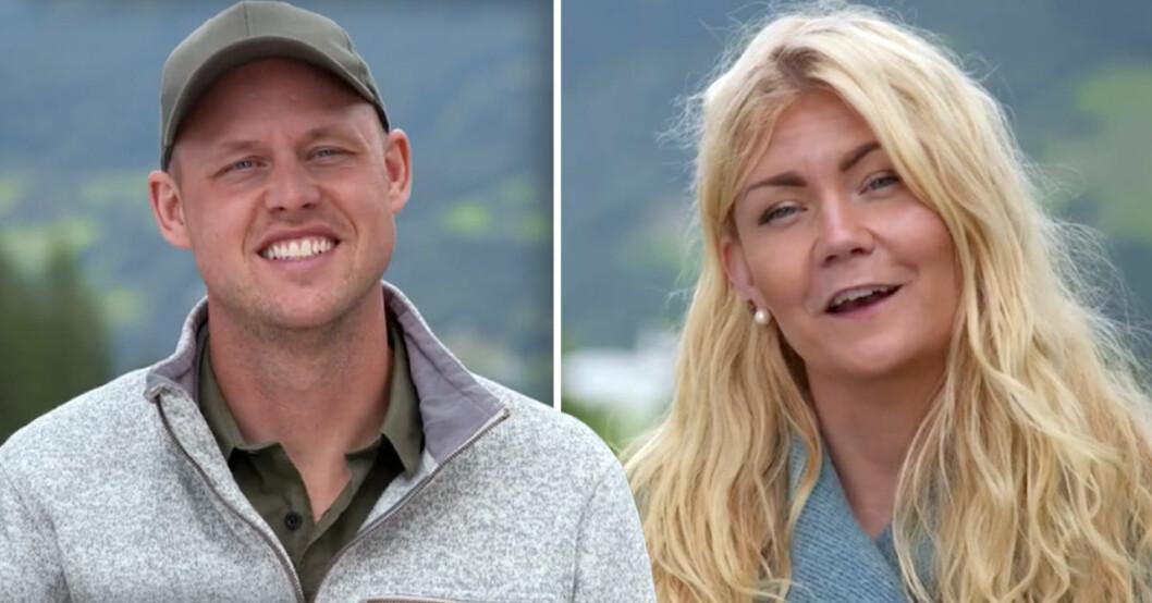 Emelie och Jimmy i Bonde söker fru