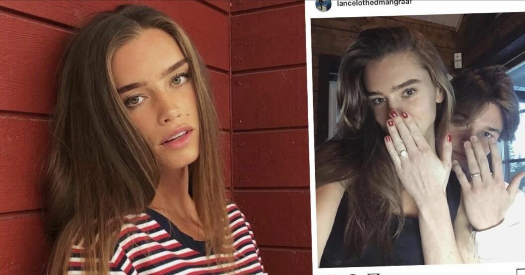 Emilia Lantz – allt du vill veta om Lance Hedmans fästmö