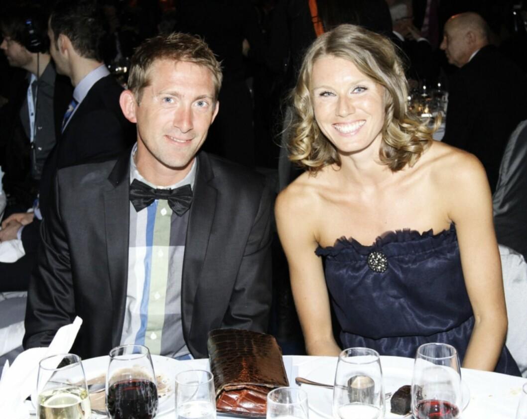 Yannick Tregaro och Emma Green på Idrottsgalan 2011.
