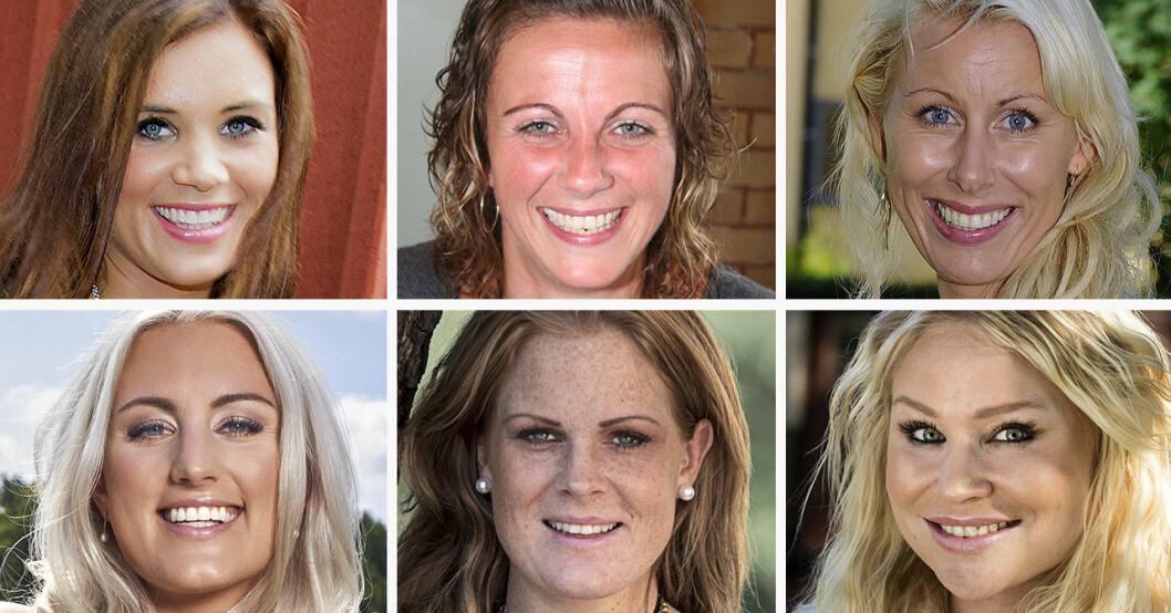 Hannah Jakobsson, Lenita Colley, Cecilia Ekeblom, Beatrice Larsson, Sofi Mahani och Evelina Vidén har alla varit med i Ensam mamma söker.