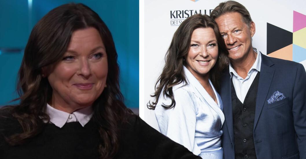 Lotta Engberg och Mikael Soldoktorn Sandström.