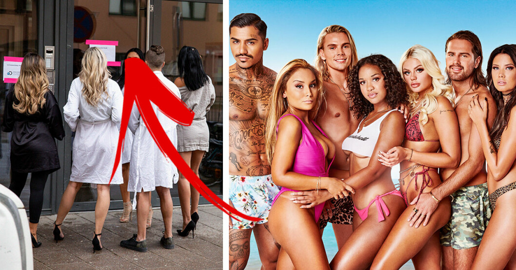 Bilden som avslöjar deltagarna i nya Ex on the Beach
