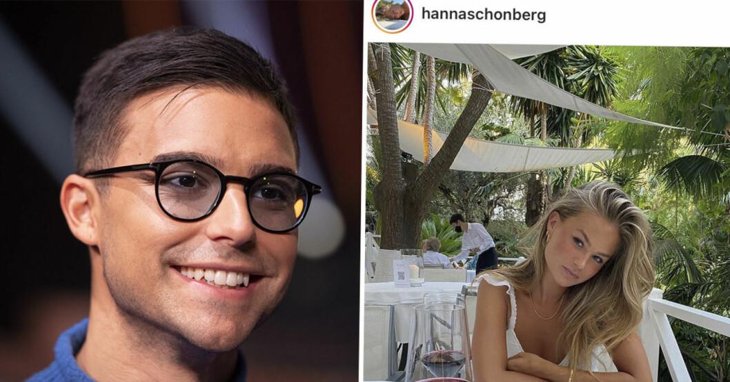 Eric Saade Hanna Schönberg