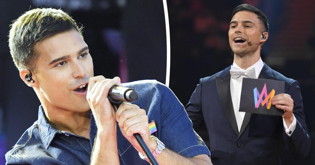 Eric Saades nya besked om Melodifestivalen.