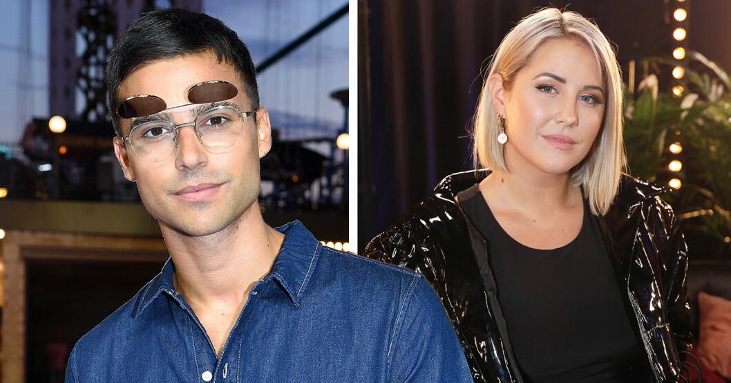7 år efter uppbrottet – här återförenas Molly Sandén och Eric Saade